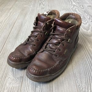 Rocky Brown Leather Lace-up Boots ???